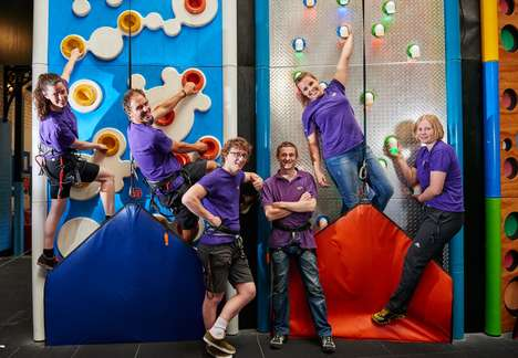 Family-Focused Climbing Gyms - 'Clip n' Climb' Offers Mentally and Physically Stimulating Obstacles