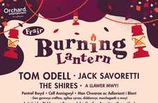 Lively Family Music Festivals - 'Burning Lantern' is a Welsh Music Festival Designed for Families