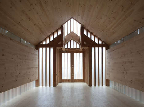 Timber-Clad Memorial Chapels