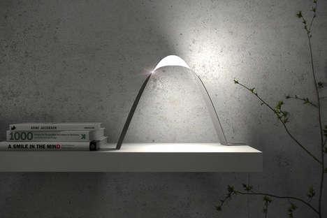 Twisting OLED Illuminators