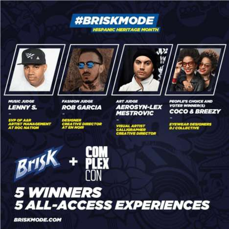 Artistic Accelerator Programs - the #BriskMode Accelerator celebrated Hispanic Heritage Month