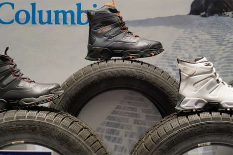 Tire-Soled Winter Boots