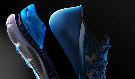 Run-Suggesting Shoes - The UA SpeedForm Gemini 3 RE Smart Shoes Determine Exercise Intensity