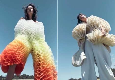 Curvaceous 3D Clothing Concepts