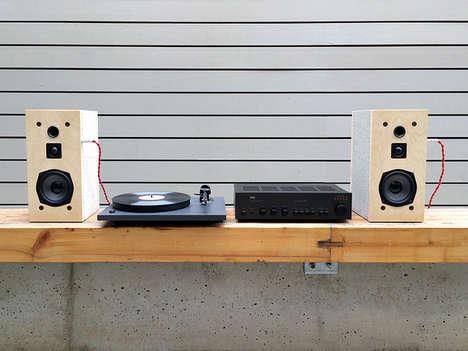 Cinder Block Speakers