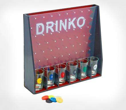 Gameshow-Inspired Drinking Games - The 'DRINKO' Drinking Shot Game is Modeled After Plinko