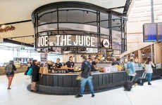 Airport Coffee Bars - The Sydney Airport is Now Home to a Joe & the Juice Cafe