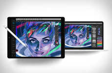 Graphic Design Tablet Apps - Astropad Studio is a Design Tool for Digital Designers on the iPad Pro