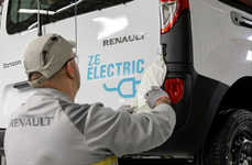 All-Electric Transport Vans