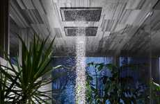 Storm-Mimicking Shower Heads - The Kohler 'Real Rain' Storm Shower Head Creates a Faux Storm