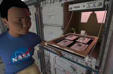 Astronaut Simulation Apps - NASA 'Science Investigations: Plant Growth' Teaches Crop Growth in Space