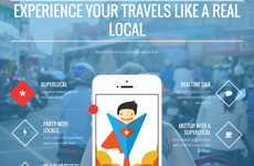 Local Citizen Travel Apps - 'SuperLocal' Connects Travelers to Local Travel Guides for Tips