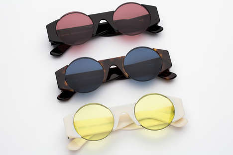 Russian Designer Sunglasses - This New RETROSUPERFUTURE Series Was Made with Gosha Rubchinskiy