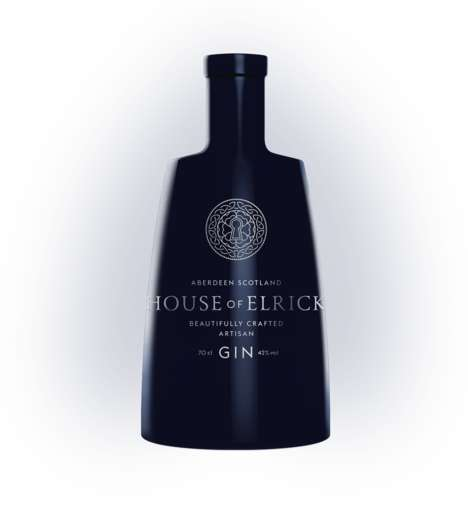 Loch Ness Gins - House of Elrick is a Premium Gin Brand that Uses Water from the Historic Lake