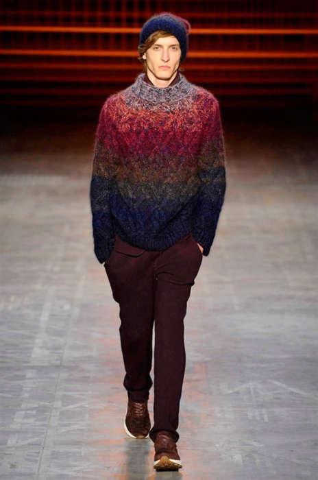 Luxe Ombre Knitwear
