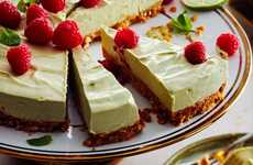 Avocado Cheesecake Recipes - PC Insiders' No Bake Cheesecake Boasts Avocado and Lime Ingredients