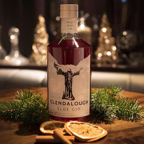 Exclusive Irish Spirits - Glendaloug Released a Limited-Edition Sloe Gin for the Winter Season