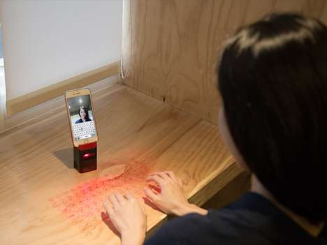 Portable Projection Keyboards