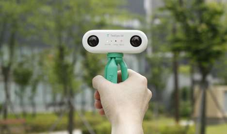 Pocket-Sized VR Cameras - The 'TwoEyes' 360 VR Camera Captures the Natural Human View