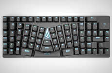 Ergonomic Contour Keyboard Designs