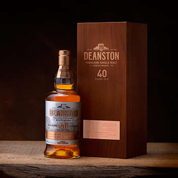 40-Year-Old Scotch Whiskies - Deanston 40 Year Old is a Premium Whisky for Discerning Drinkers