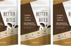 Protein-Rich Chocolate Bites - The Sulpice Dark Chocolate Peanut Butter Cup Bites Have Natural Fiber
