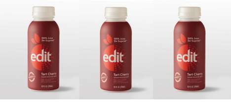 Flavorful De-Sugared Juices - The Edit De-Sugared 100% Tart Cherry Juice Has Antioxidant Properties