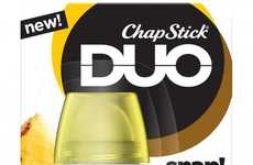 Mix-and-Match Lip Balms - ChapStick's 'DUO' Introduces Two-In-One Lip Balm Products