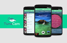 Playlist-Generating Apps - 'TunaCam' Creates Playlists for Users Based on Their Surroundings