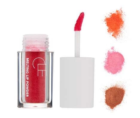 Powdered Pigment Lipsticks