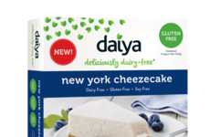 Indulgent Dairy-Free Cheesecakes - daiya's New York Cheezecake Puts a Dairy-Free Spin on Dessert
