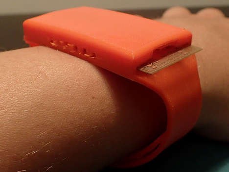 3D-Printed Smartwatches