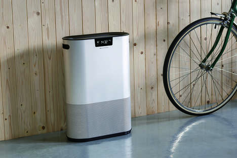 Lightweight Recyclable Air Purifiers