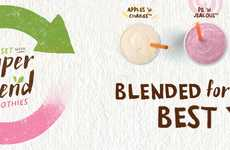Nutritionally Balanced Smoothies - The New 'Super Blend Smoothies' Serve as Tasty Meal Replacements