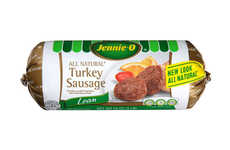 Preservative-Free Sausages - The Jennie-O All-Natural Turkey Sausage Made with Minimal Ingredients