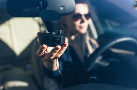 Accident-Sensing Dashboard Cameras