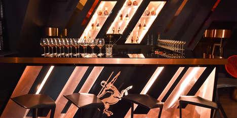 DIY Cognac Pop-Ups