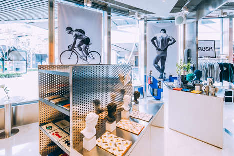 Experiential Lifestyle Stores - Beijing's Artemis Boutique Combines Food, Apparel and Events