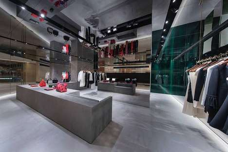 Overseas Celebrity Clothing Stores - Victoria Beckham Hong Kong is a New Destination in China