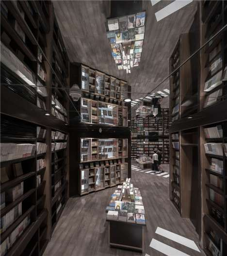 The Zhongshuge Bookstore Has an Expansive Space and a Unique Design