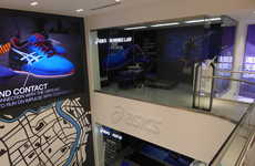 In-Store Running Demos - The ASICS Shanghai Flagship Offers High-Tech Fittings and Running Systems