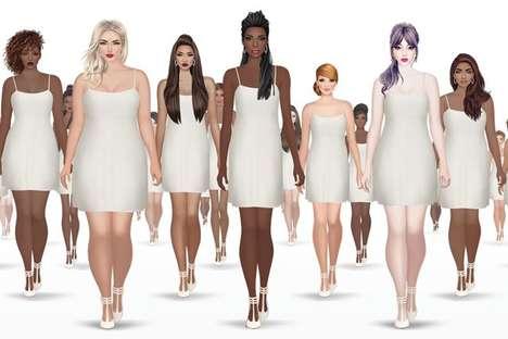 Body-Positive Fashion Games