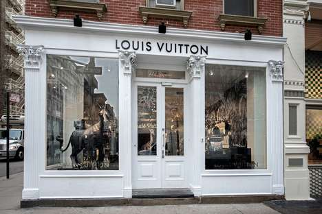 Designer Male-Only Pop-Ups - This Louis Vuitton Pop-Up Features Clothing and Accessories for Men