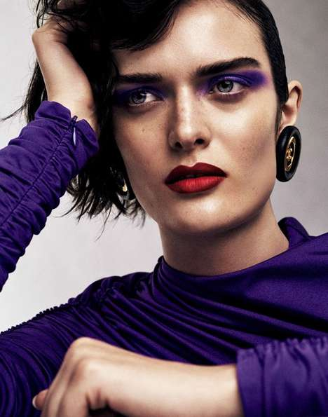 Vogue Japan's 'Time to Party' Story Boasts Vivid Beauty and Wardrobe Picks