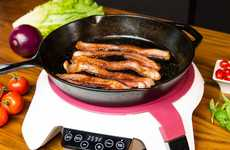 Bluetooth Cooking Systems - The 'Paragon' Smart Stovetop Cooking System Enables Precision Control