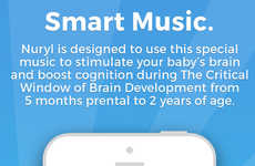 Brain-Training Baby Apps - The 'Nuryl' App Advances Baby Brain Development Through Sound