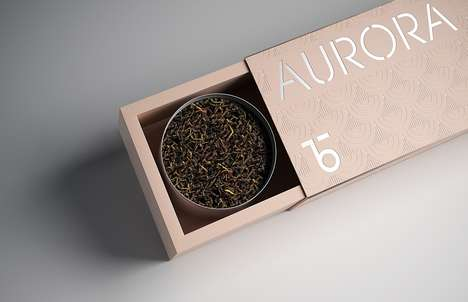 Minimalist Tea Box Sets - The Teabox Brand Aimed to Revolutionize This Historical Beverage