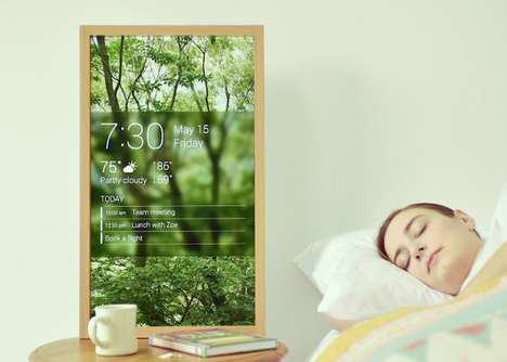 4K Digital Windows - The 'Atmoph Window' Displays Outdoor Scenery in a Beautiful Way