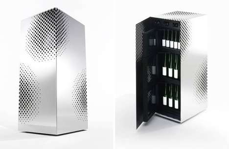 Contemporary Rice Wine Fridges