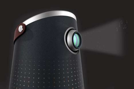 Portable Projection Karaoke Machines